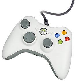 Tay Cầm Chơi Game Xbox 360 - Trắng