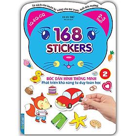 Bóc Dán Hình Thông Minh Phát Triển Khả Năng Tư Duy Toán Học - 168 Sticker (Quyển 2)
