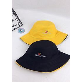 Nón bucket, mũ vành nam nữ 2in1 Summer Time - N7.OBI
