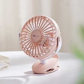 Bear electric fan DFS-A03P1 table clamp dual-use portable charging built-in night light