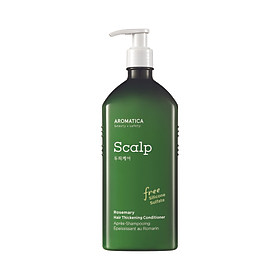 Dầu xả chiết xuất hương thảo Aromatica Rosemary Hair Thickening Conditioner 400ml