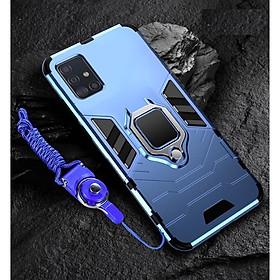Ốp lưng chống sốc kèm iring cho SamSung Galaxy A71