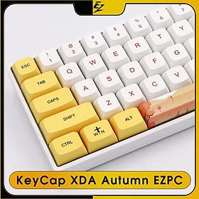 KeyCap PBT XDA AUTUMN EZPC 129 Phím Cho Bàn Phím Cơ