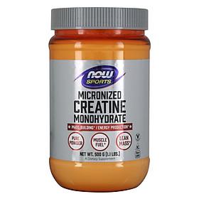 Creatine Monohydrate, Micronized Powder | Giúp duy trì các mô cơ hiện có, hỗ trợ sự tăng trưởng và phát triển của khối lượng nạc, và thúc đẩy hiệu suất tối ưu trong các bài tập ngắn cường độ cao (500gram - 1.1 LBS)