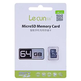 Thẻ Nhớ MicroSD Lecun 64GB (Đen) - Hàng Nhập Khẩu