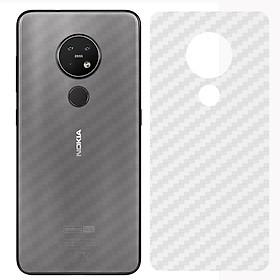 Miếng Dán Mặt Lưng Cacbon Dành Cho Nokia 7.2- Handtown - Hàng Chính Hãng