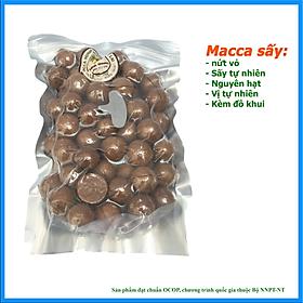 Combo 2 gói macca sấy nứt vỏ cao cấp Minh Quang (500g x 2) - Hạt dinh dưỡng cho bà bầu, trẻ em, làm sữa hạt, hỗ trợ làm đẹp - kèm đồ khui
