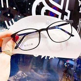 Mắt kính giả cận cao cấp gọng dẻo dành cho cả nam và nữ Jun Secrect BDDR50