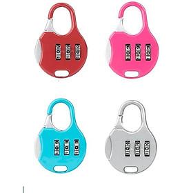 Ổ khóa hành lý, balo, va ly chống trộm – Khóa mini mật mã số F331SP2