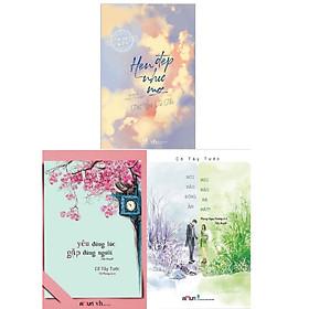 Combo 3 cuốn: Hẹn Đẹp Như Mơ + Yêu Đúng Lúc, Gặp Đúng Người + Nơi Nào Đông Ấm, Nơi Nào Hạ Mát