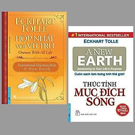 Combo 2 cuốn sách kĩ năng sống hay nhất : Hợp Nhất Với Vũ Trụ + Thức Tỉnh Mục Đích Sống/ Những cuốn sách giúp bạn trẻ sống tích cực