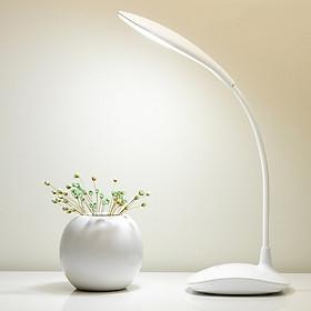 Đèn led để bàn đọc sách cắm USB thân đèn uốn cong ( Tặng kèm 01 quạt mini vỏ nhựa cắm USB ngẫu nhiên )