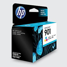 HP CC656AA 901 Color Ink Cartridge (for HP Officejet J4580 J4660 4500)