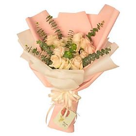 Bó hoa tươi - Nụ Hồng Mong Manh 3926