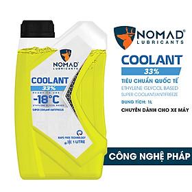 Nước làm mát xe máy NOMAD COOLANT 33% dung tích 1 lít – Nhập khẩu DUBAI chính hãng