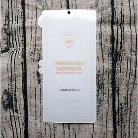 Miếng dán full mặt trước, sau PPF cho Samsung Galaxy Note 10 Plus, Samsung Galaxy Note 10 Plus 5G chống xước