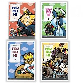 Combo Trọn Bộ 4 Tập: Tây Du Hí - Tặng Bookmark Phương Đông