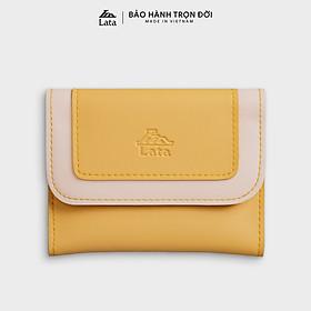 Ví nữ mini cầm tay thời trang LATA VN50 nhiều màu (Dài 12cm x Rộng 1.5cm x Cao 9cm)