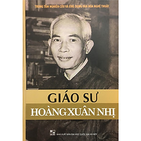 Giáo sư Hoàng Xuân Nhị