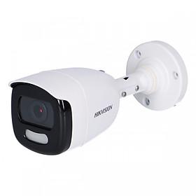 Camera An Ninh Có Màu 24/24 Hikvision DS-2CE10DFT-F - Hàng Chính Hãng