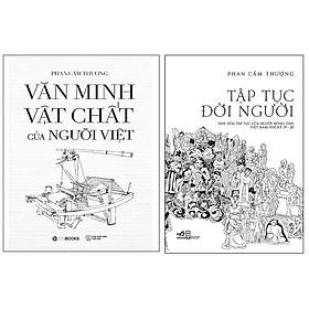 Combo Tập tục đời người - Văn minh vật chất của người Việt