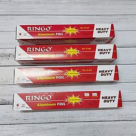 Combo 4 Cuộn Giấy Bạc Ringo R12 Nướng Đồ Ăn, Làm Bánh