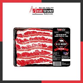 [Chỉ Giao HCM] - Ba rọi bò Mỹ BBQ 500g