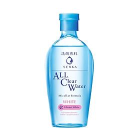 Nước Tẩy Trang Senka All Clear Water Micellar Vibrant  White