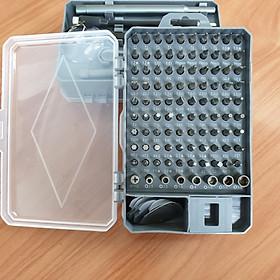 Bộ tua vít mở điện thoại đa năng 100 đầu  vạn cao cấp mầu ghi H1