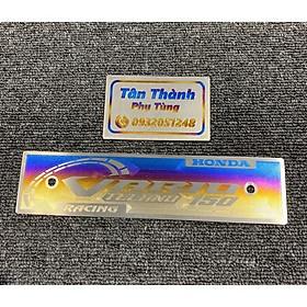 Bảng tên Titan kiểu 3D dành cho xe Vario, Mxking, Satria, Exciter, Sonic, Winner