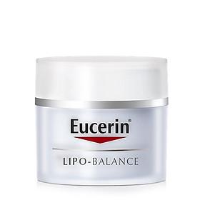 Kem Dưỡng cho Da Khô, Nhạy Cảm Eucerin Lipo Balance Intensive Nourishing (50 ml)