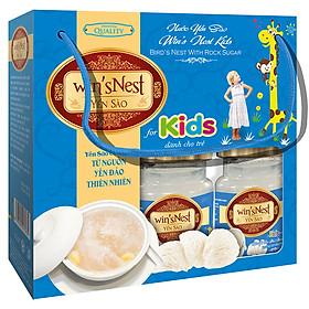 Nước Yến Sào win'sNest Kids 6 lọ/lốc dành cho trẻ trên 1 tuổi (combo 2 lốc)