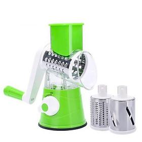 Máy bào sợi cắt lát rau củ quả bằng tay, máy xay đa năng, máy xay cầm tay ( Màu ngẫu nhiên )