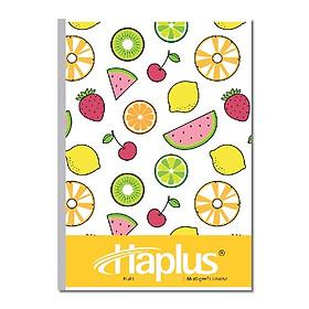 Vở kẻ ngang Haplus - Fruit ( 80, 120, 200 trang ) (GIao hình ngẫu nhiên)