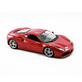 Mô Hình Xe Ferrari 488 GTB Red 1:18 Bburago - MH18-16008
