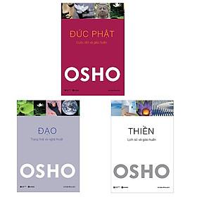 Bộ 3 cuốn tuyệt tác của Osho: Đức Phật - Đạo - Thiền