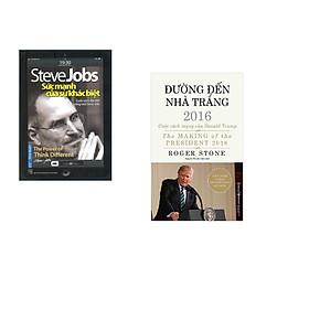 Combo 2 cuốn sách: Steve Jobs - Sức Mạnh Của Sự Khác Biệt + Đường Đến Nhà Trắng 2016