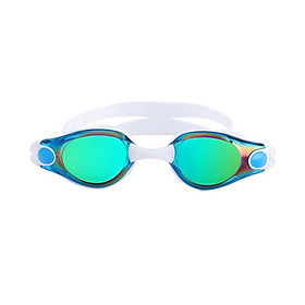 2018 Professional Adult HD Goggles Anti-fog Colorful Plating Waterproof Swimming Glasses