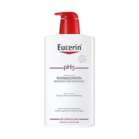 Combo Eucerin Tinh Chất Giảm Thâm Nám UltraWhite Spotless Serum 30ml Và Sữa Tắm, Rửa Mặt Cho Da Nhạy Cảm pH5 Washlotion 1000ml-2