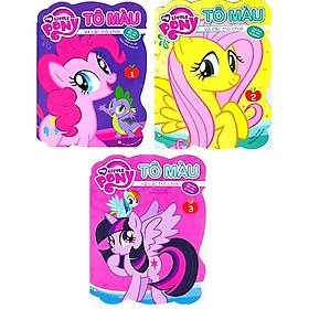 Bộ Sách My Little Pony - Tô Màu Và Các Trò Chơi (Bộ 3 Cuốn)
