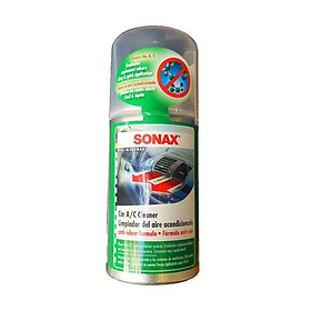 Chai khử mùi làm sạch dàn lạnh dạng hơi Sonax Car A/C Cleaner 323100 (100ml)