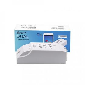 Sonoff Dual - Công tắc WiFi thông minh điều khiền 2 thiết bị - Hàng Nhập Khẩu