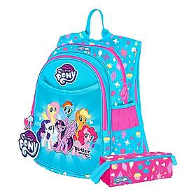 Ba Lô Clever Hippo Compact My Little Pony Sức Mạnh Tình Bạn BP1108 Tặng Kèm Hộp Bút Người Bạn Đáng Yêu