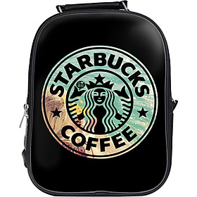 Balo Unisex In Hình Starbucks Coffee - BLTE151