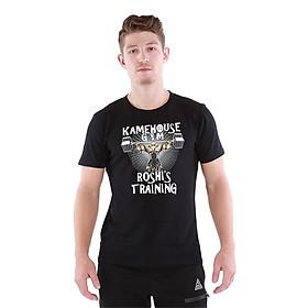 Áo Tập Gym Nam Tay Ngắn Fitme Cotton - FAGMCN-DY