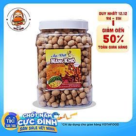 Đậu phộng da cá nước cốt dừa ( Giòn ngon - đậm vị ) thương hiệu Nàng Khô - 500 gram