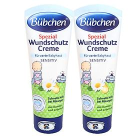 Combo 2 Tuýp Kem Hỗ trợ chữa trị Hăm Bubchen cho bé - Spezial Wundschutz Creme (75ml x 2 tuýp)