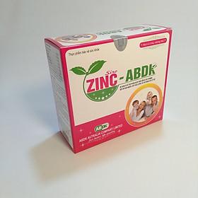 Thực phẩm bảo vệ sức khỏe ZINC-ABDK hộp 20 ống- Bổ sung Kẽm và Vitamin cần thiết cho sự phát triển của trẻ, nâng cao sức đề kháng, giúp cơ thể khỏe mạnh, giúp tăng hấp thu dưỡng chất, kích thích ăn ngon miệng.