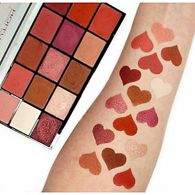 Bảng mắt Makeup Revolution Reloaded Eyeshadow Palette Neutrals 2 Division Vitality Fever