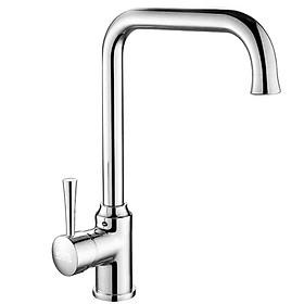 Vòi rửa chén nóng lạnh Eurolife EL-T029 (Trắng bạc)